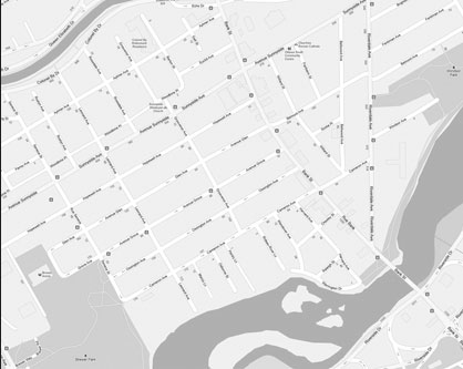 Old Ottawa South map